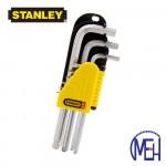 Stanley Hex Key-Chrome Set (9pcs) 69-119