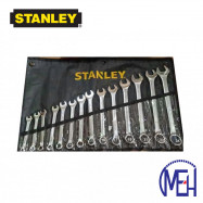 image of Stanley  Slimline Combination Wrench Set (14pcs) 87-036-1