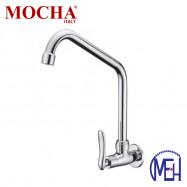 image of Mocha Wall Mounted Sink Tap ('1' Series) M1108
