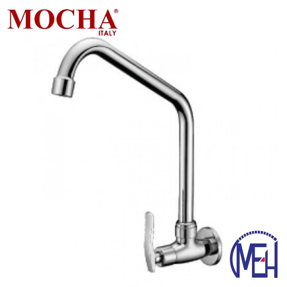 Mocha Wall Mounted Sink Tap ('8' Series) M8108