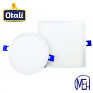 image of Taiwan Otali LED Ultra Slim Panel Light 18W Round/Square Cool White/Warm White