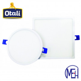 image of Taiwan Otali LED Ultra Slim Panel Light 18W Round/Square Cool White/Warm White
