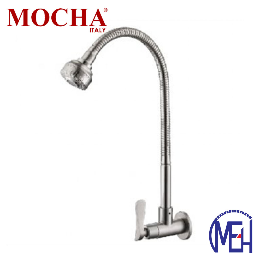 Mocha Flexible Wall Mounted Sink Tap (304 Faucet) M4518SS