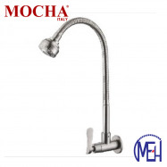 image of Mocha Flexible Wall Mounted Sink Tap (304 Faucet) M4518SS