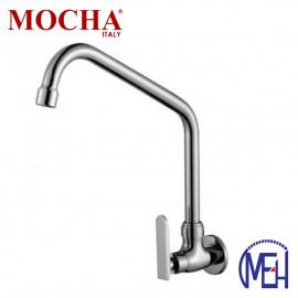 image of Mocha Wall Mounted Sink Tap ('9' Series) M9108