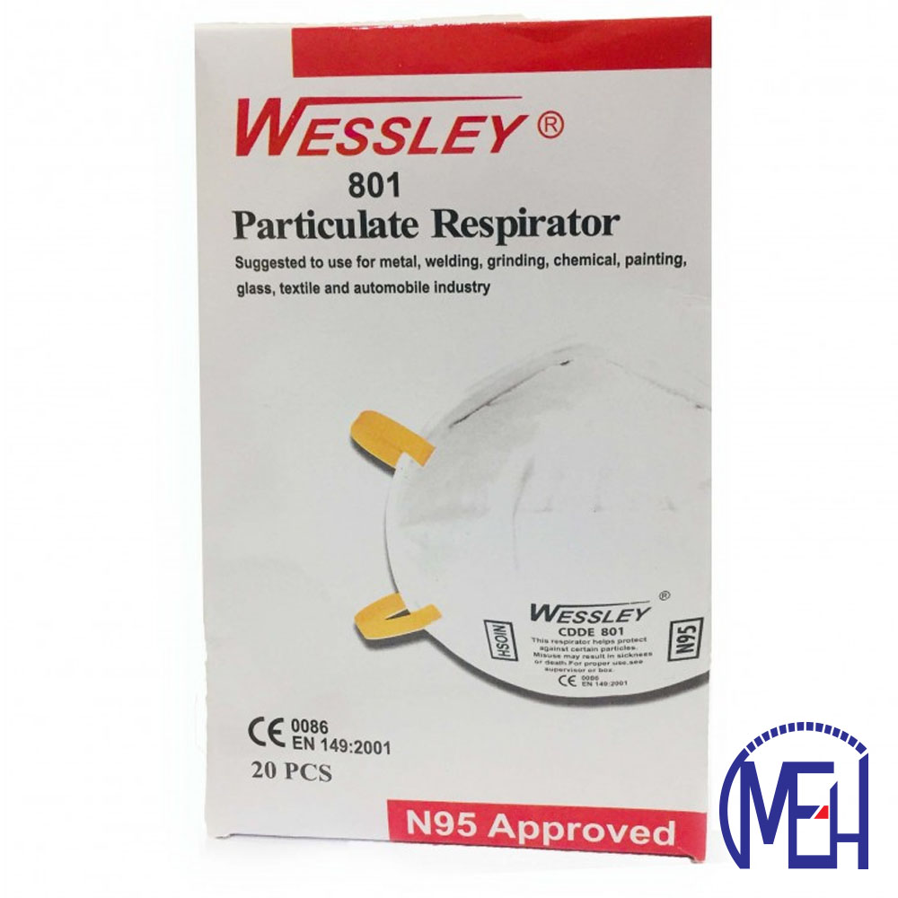 Wessley Particulate Respirator (20pcs) 801