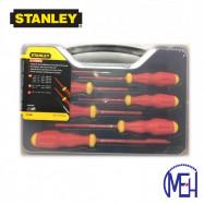 image of Stanley VDE Screwdriver set (6pcs) with Bonus 65-980