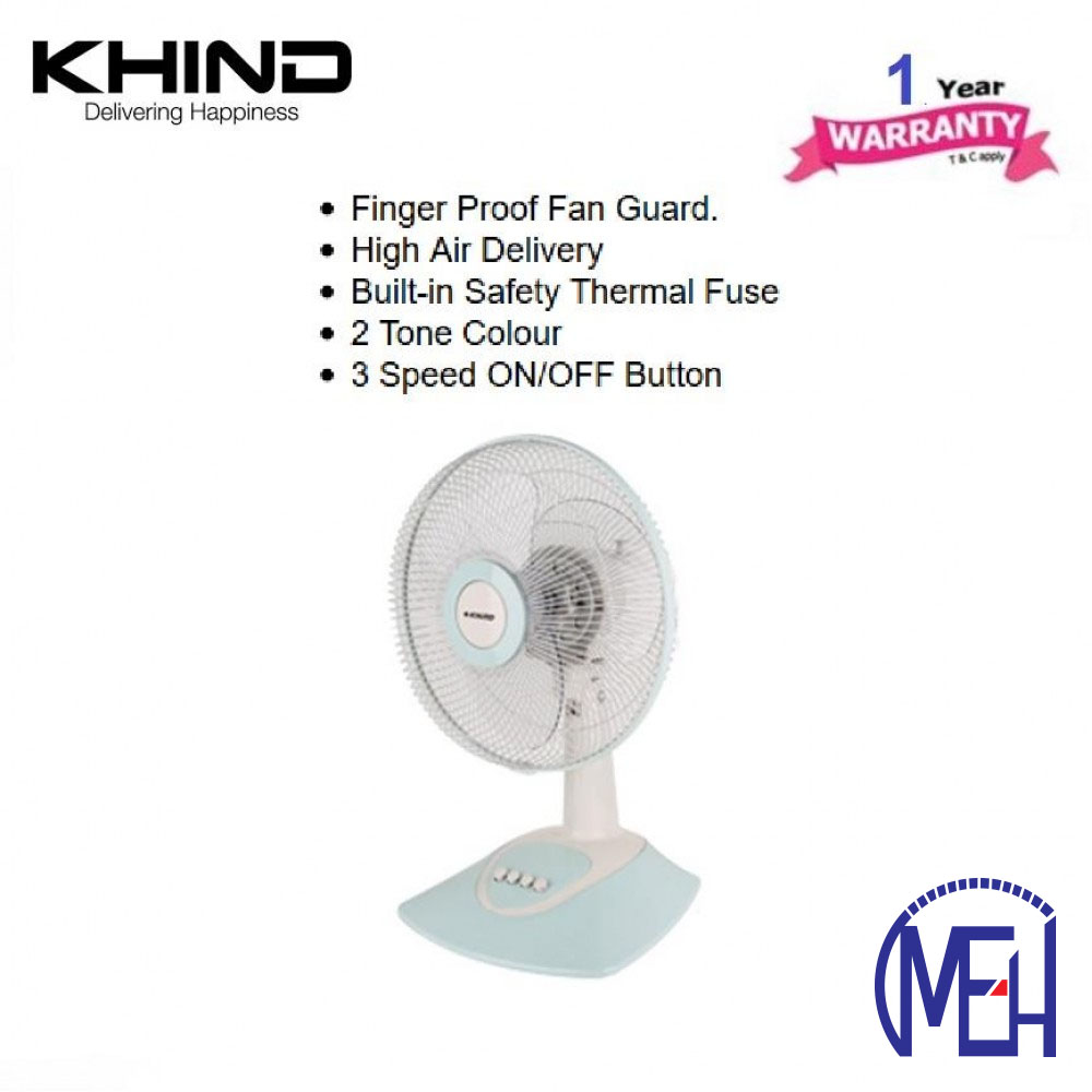 """Khind 12"""" Table Fan TF1230"""