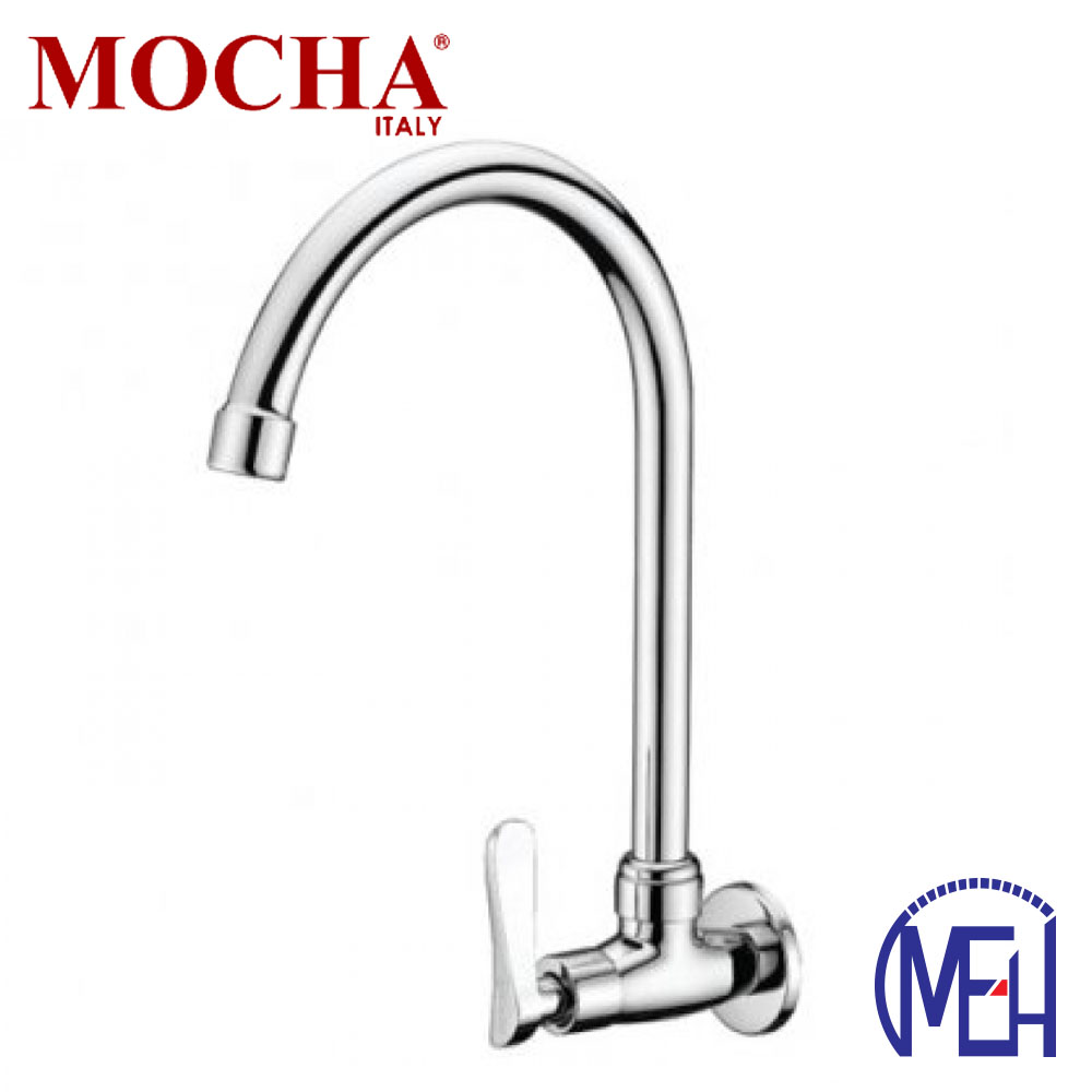 Mocha Wall Mounted Sink Tap ('2' Series) M2128
