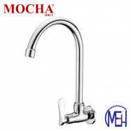 image of Mocha Wall Mounted Sink Tap ('2' Series) M2128