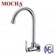 image of Mocha Wall Mounted Sink Tap ('8' series) M8128