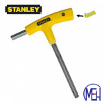 Stanley T-Handle Hex Key-Yellow 69-280