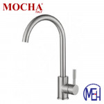 Mocha Pillar Mounted Sink Tap (Mixer-304 Faucet) M4130SS