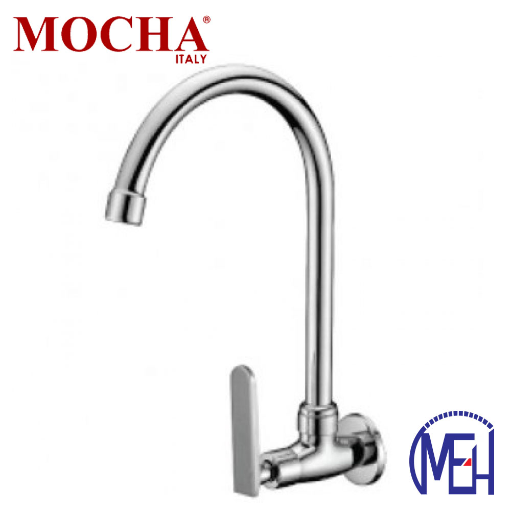 Mocha Wall Mounted Sink Tap ('9' Series) M9128