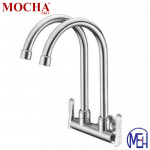 Mocha Wall Mounted Sink Tap (Double-'2' Series) M2122