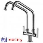 Mocha Pillar Mounted Sink Tap (Double-'9' Series) M9113
