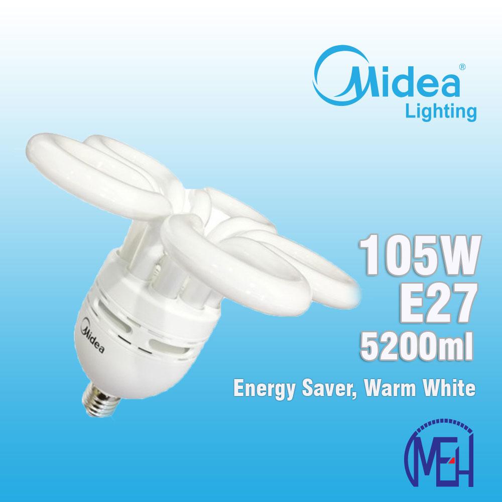 Midea Flower Saver Bulb 105W E27 Warm White