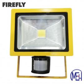 image of Firefly LED Flood Light with Sensor 30W Warm White