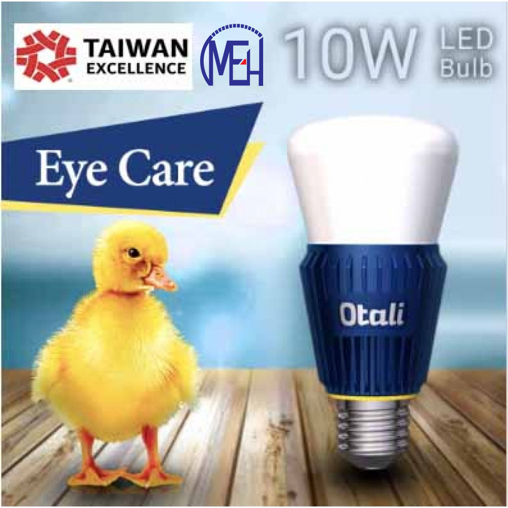 Taiwan Otali Eye Care LED Sapphire Bulb 10W E27 Super bright x2 pcs