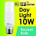 FF Lighting LED Rocket Bulb 10W E27 Day Light 6500K