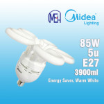 Midea Flower  Saver Bulb 5U 85W E27 Warm White