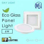 FF Lighting LED Eco Glass Panel Light 6W Square Day Light