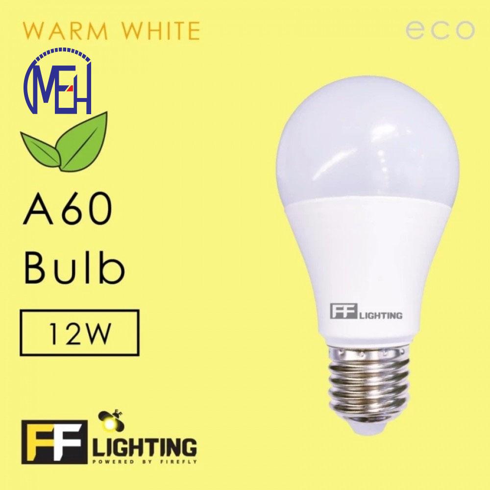 FF Lighting LED A60 Eco Bulb 12W E27 Warm White (3pcs)