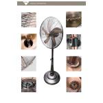 """tikka 18"""" antique stand fan"""