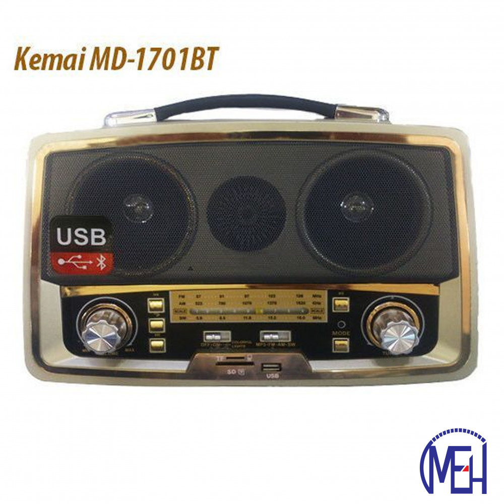 Kemai Bluetooth And Radio MD-1701BT