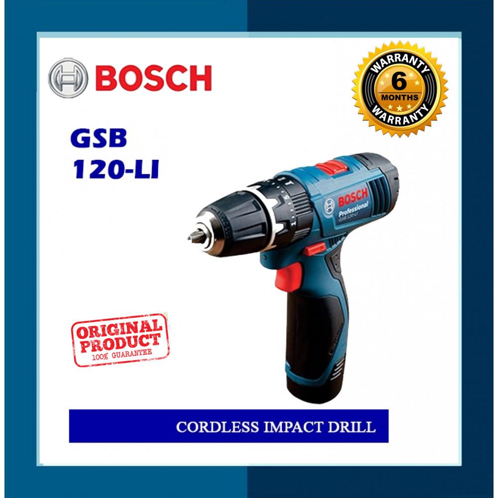Bosch Cordless Impact Drill GSB120-LI
