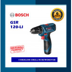 Bosch Cordless Drill/Driver GSR120-LI