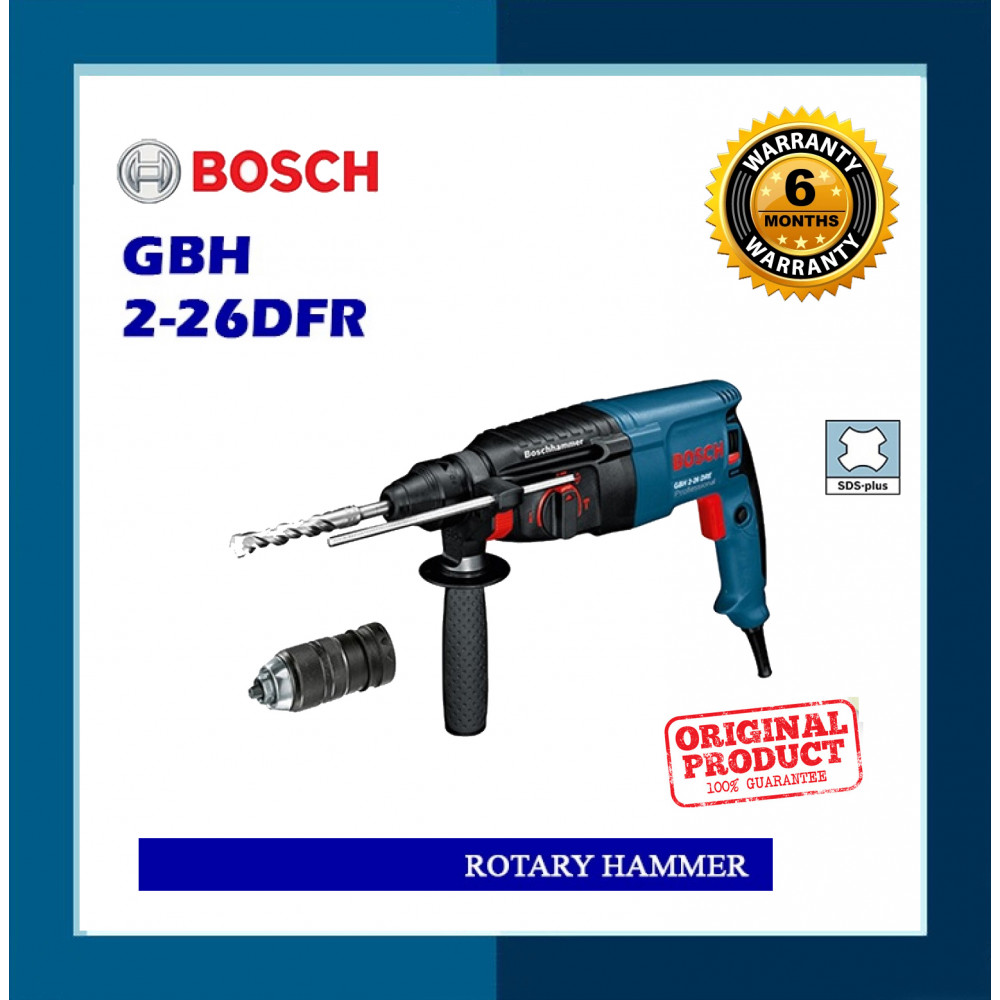 Bosch Rotary Hammer GBH2-26 DFR