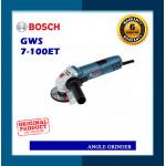 Bosch 4inch Angle Grinder GWS7-100 ET