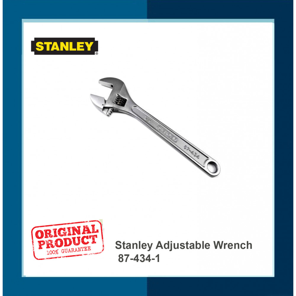 Stanley Adjustable Wrench 87-434-1