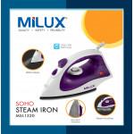 Milux Soho Steam Iron MSI-1320