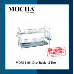 Mocha Italy (MDR11101) Dish Rack - 2 Tier *NEW Item