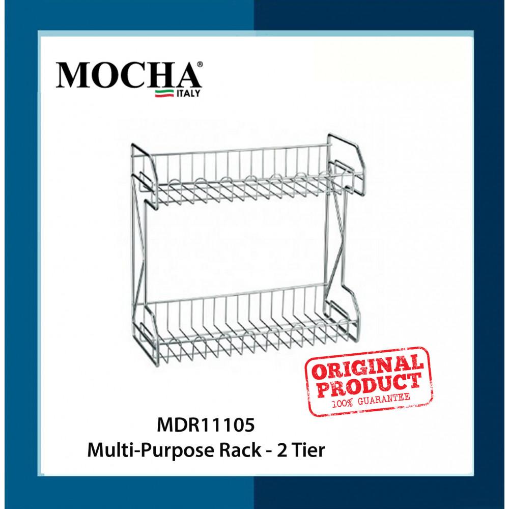 Mocha Italy MDR11105 Multi-Purpose Rack - 2 Tier