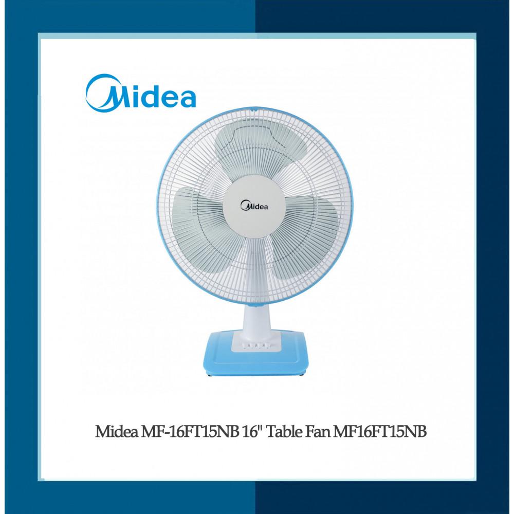 """Midea MF-16FT15NB 16"""" Table Fan MF16FT15NB"""