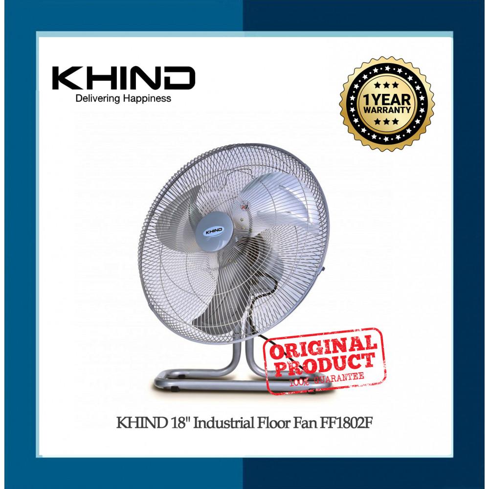 """KHIND 18"""" Industrial Floor Fan FF1802F"""