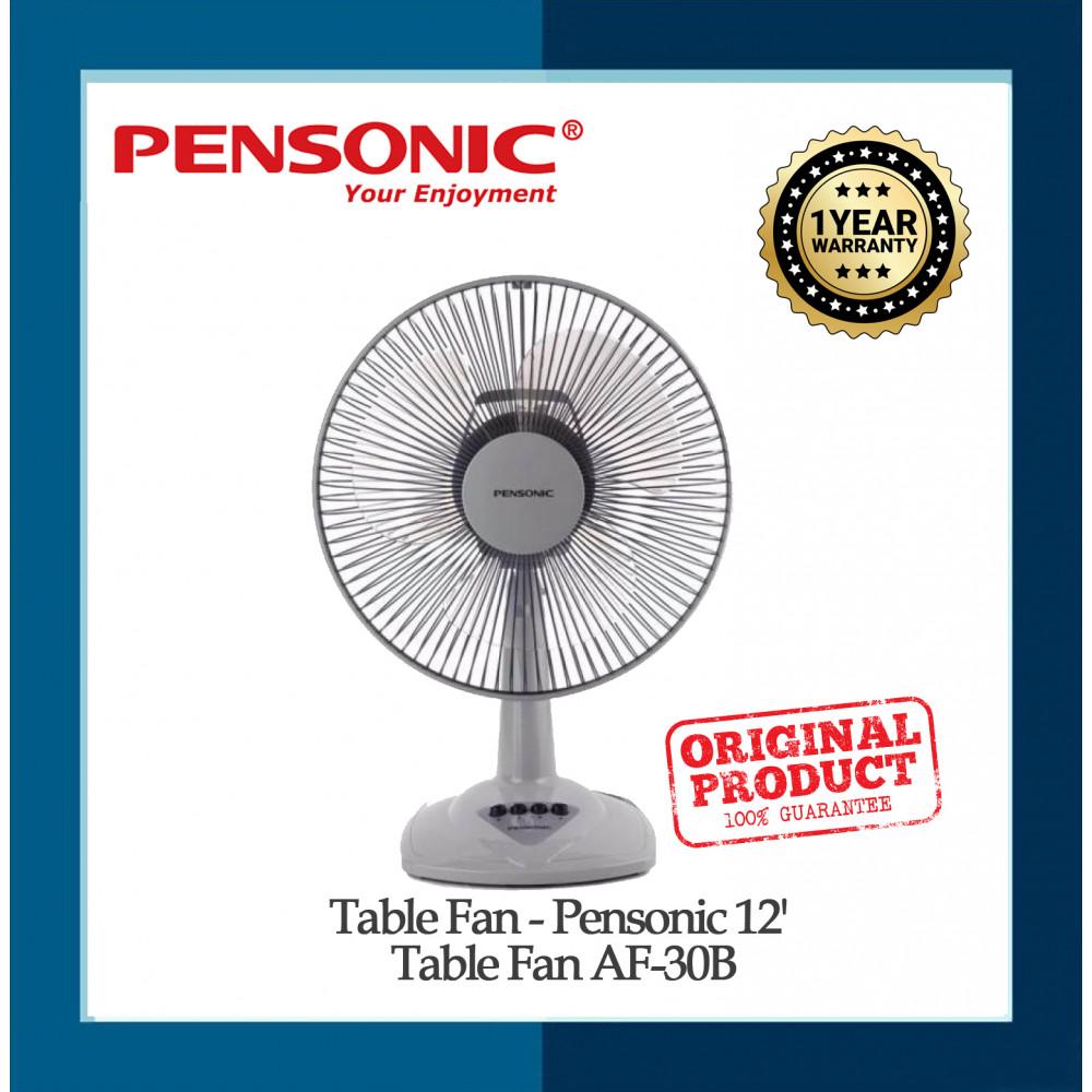 Table Fan - Pensonic 12' Table Fan AF-30B