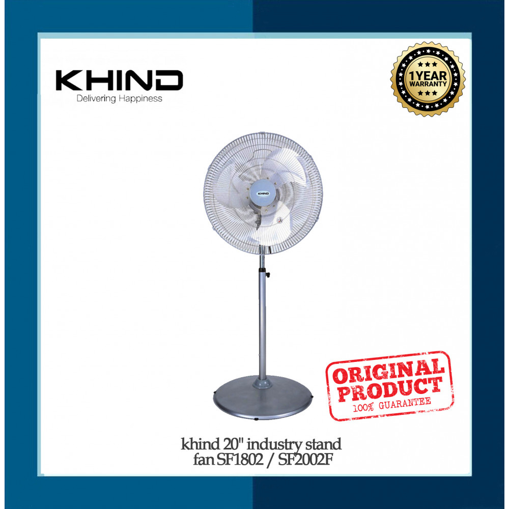 """khind 20"""" industry stand fan  SF1802B"""