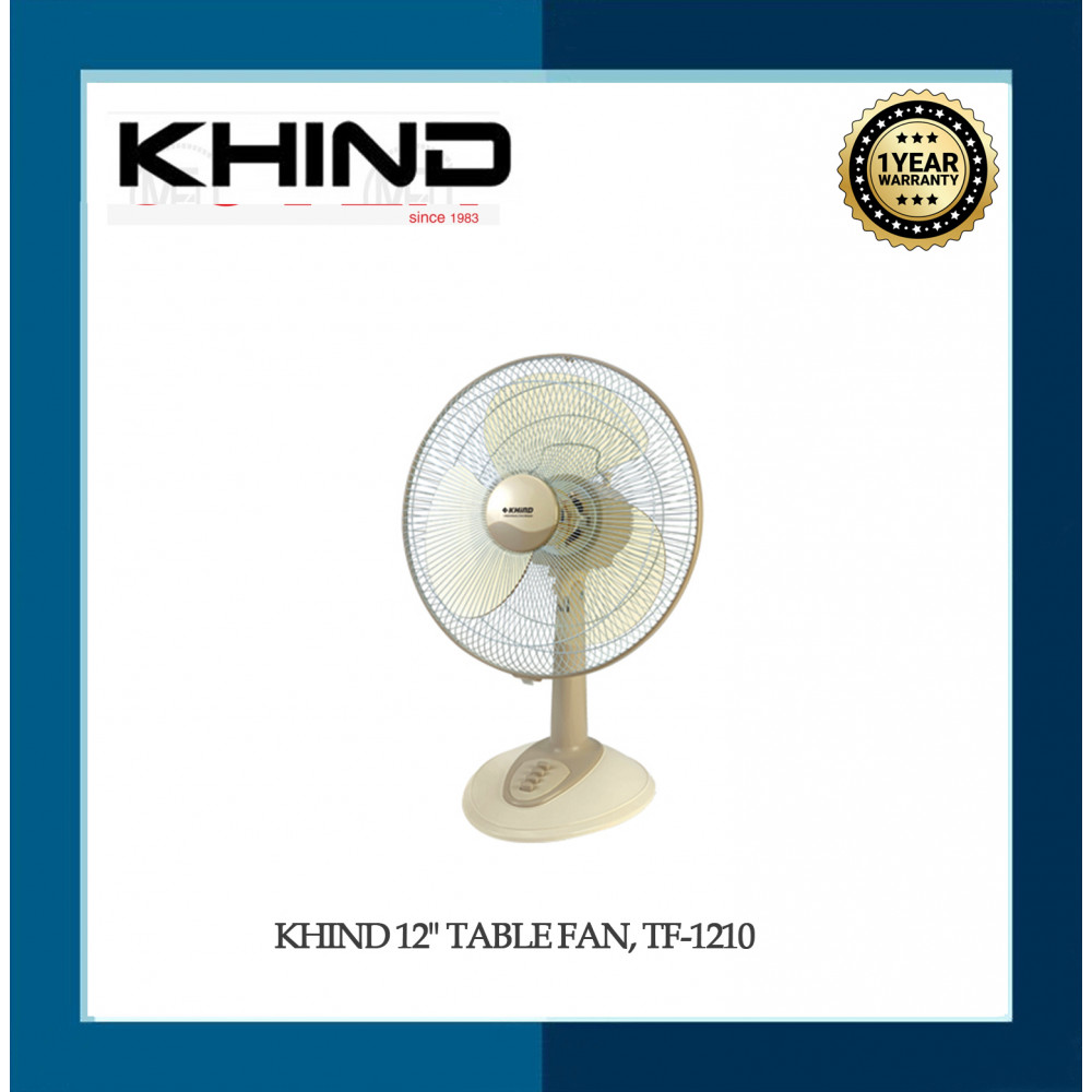 """KHIND 12"""" TABLE FAN, TF-1210"""