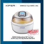 KIFER Multifunctional 360° Air Fryer KAF01 Grey (10L) Big Stainless Steel Bowl