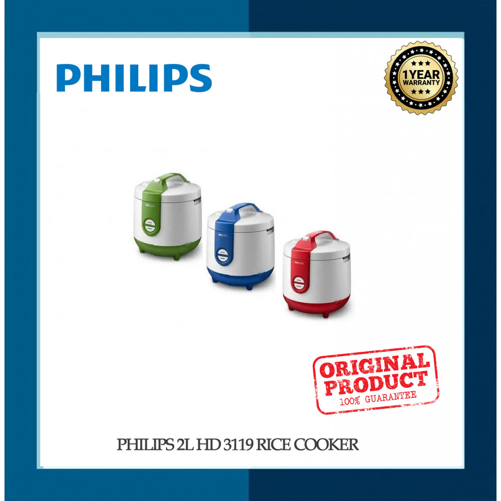 PHILIPS 2L HD 3119 RICE COOKER