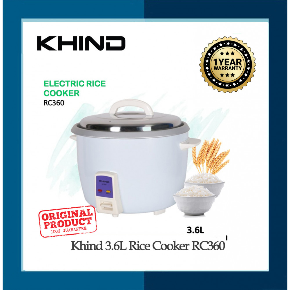 Khind Rice Cooker RC360