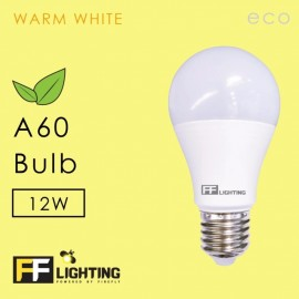 image of FF Lighting LED A60 ECO Bulb 12W E27 Warm White (Free Minions Pendrive)