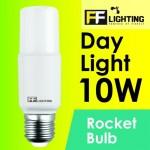 FF Lighting LED Rocket Bulb 10W E27 Day Light 6500K