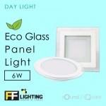 FF Lighting LED Eco Glass Panel Light 6W Round Day Light