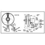 KDK Industrial Wall Fan (50cm/20″) K50RA