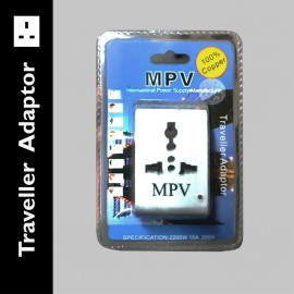 image of MPV Traveller Adaptor (Multi International Plug)
